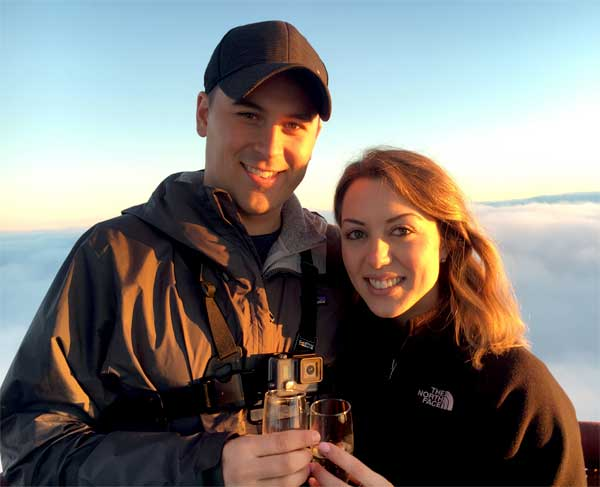 Proposal hot air balloon flight